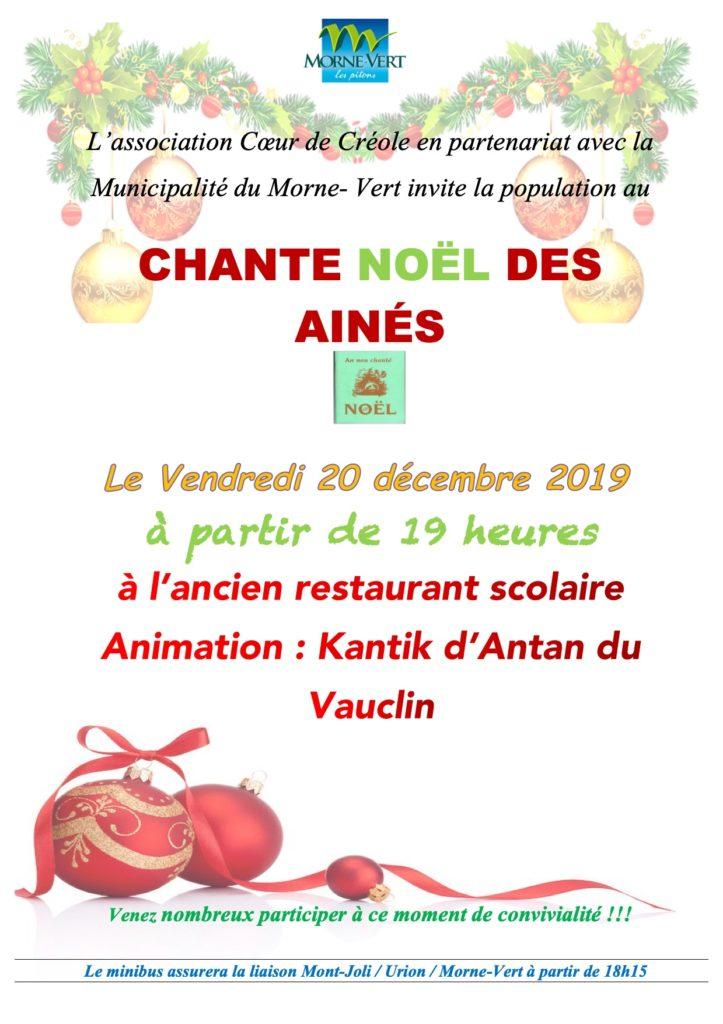 Flyer Noël des Ainés